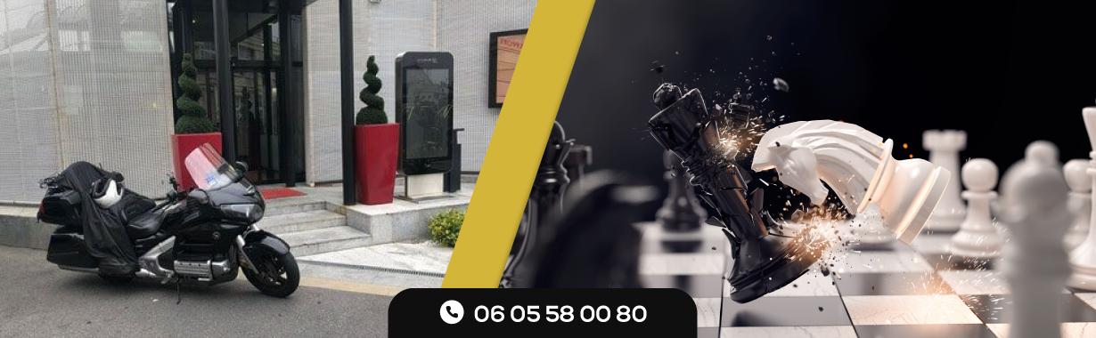 TAXIS CONTRE TAXI MOTO PARIS ET VTC