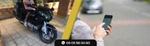 Moto Taxi Paris application