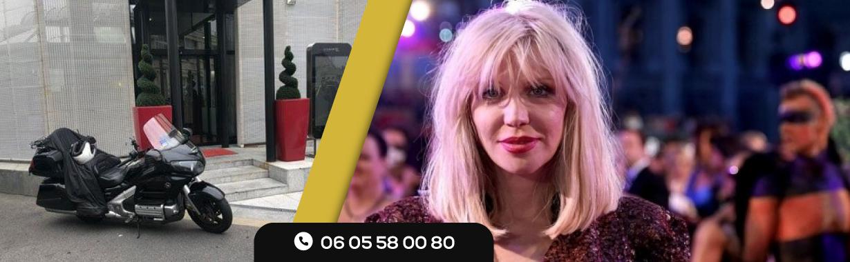 Agressée à Paris, Courtney Love Prend un Taxi Moto pour rejoindre l'Aéroport