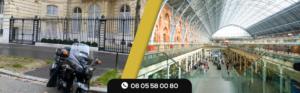 Votre Taxi Moto à Gare du Nord
