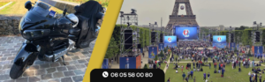 Taxi Moto Euro 2016 Paris