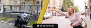 Bénéficiez d'un nouveau type de moyen de transports : TAXI MOTO ORLY ROISSY PARIS
