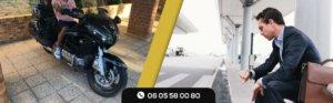 Besoin d'un taxi moto ?