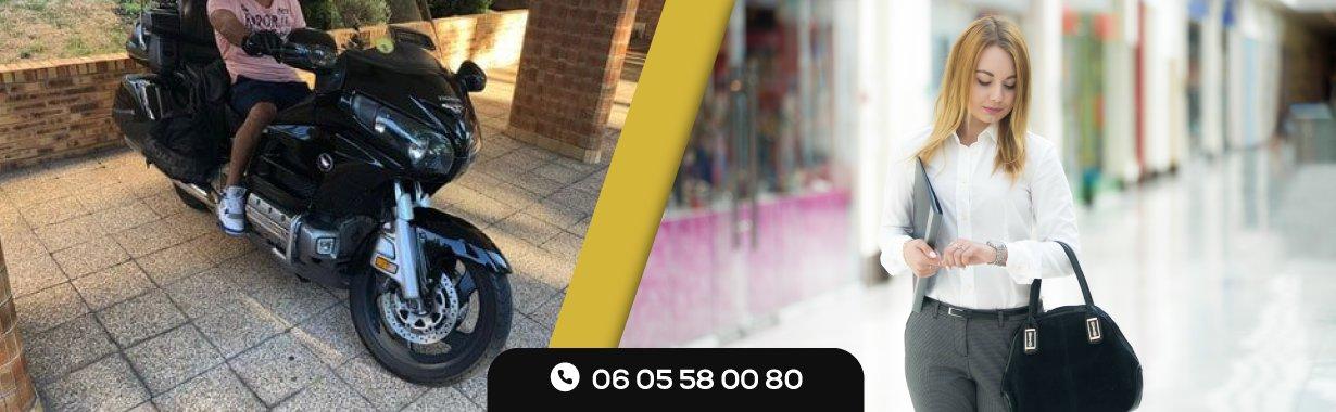 Commander un taxi moto urgent