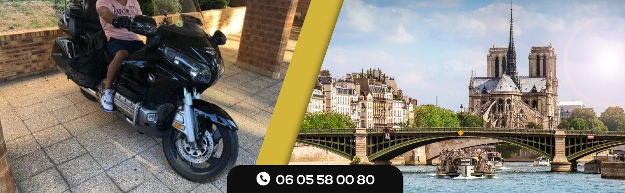 Le taxi-moto : un compagnon à travers les routes de Paris