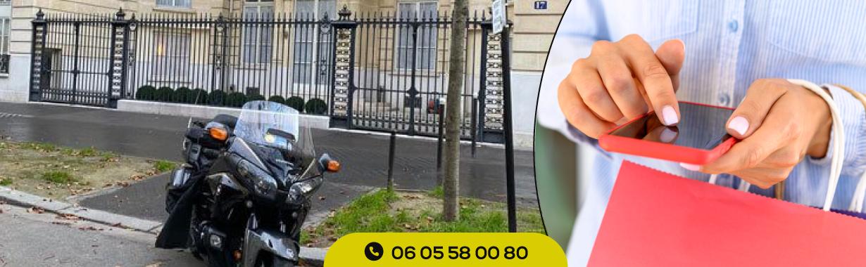 Numéro taxi moto Paris