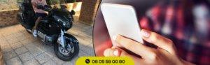 Réserver un taxi moto