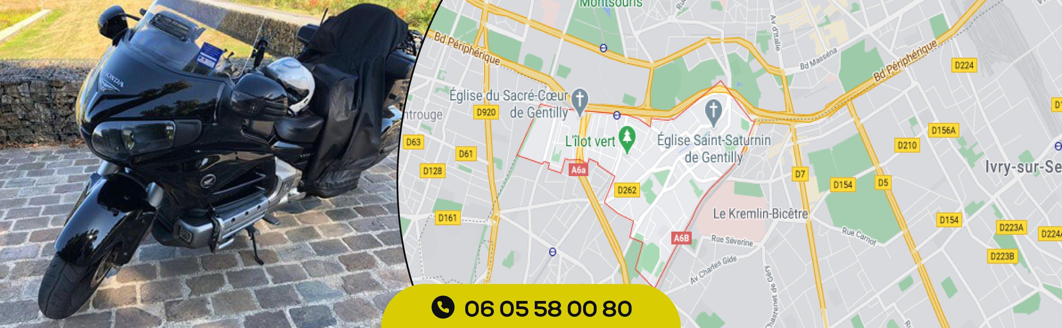Taxi-moto-gentilly